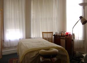 Eastern Integrative Health treatment room